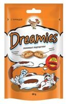 Dreamies (Дримс) 0.03 кг лакомство для кошек с курицей