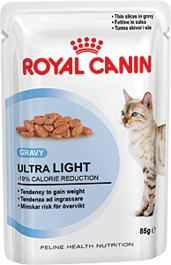 Royal Canin (Роял Канин) 0.085 кг Ультра Лайт в соусе