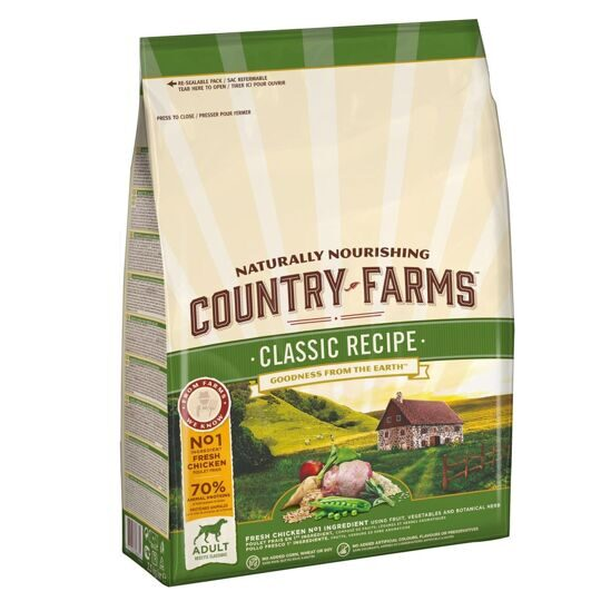 Country farms (Кантри фармс) д/с Эдалт Курица 2,5 кг