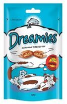 Dreamies (Дримс) 0.03 кг лакомство для кошек с лососем