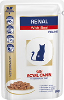 Royal Canin (Роял Канин) Ренал 0.085 кг *12 Фелин (говядина)